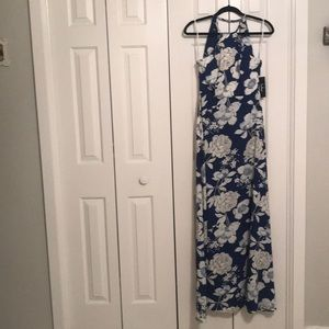 Gorgeous Lulu's Blue and White Floral Dress! XS